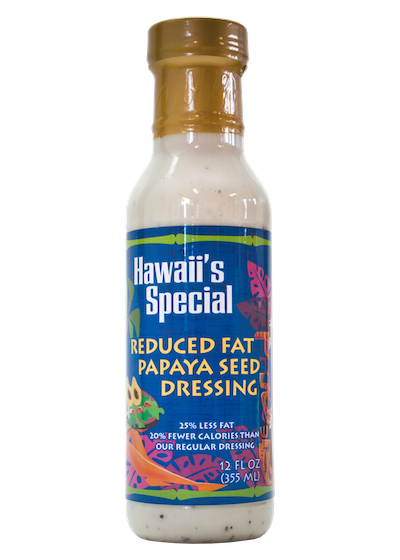 Reduced Fat Papaya Seed Dressing, 12 oz