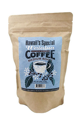 Waialua Coffee - Medium Roast, 8 oz - Whole Bean