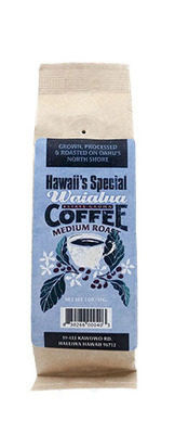 Waialua Coffee - Medium Roast, 2 oz - Whole Bean