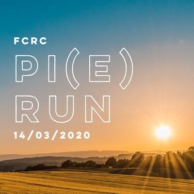 FCRC PI(E) RUN 2020 - On The Day Entries