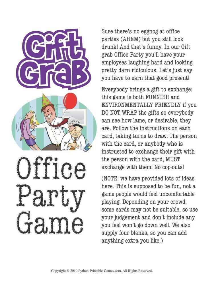 Fun ideas for gift exchange christmas party