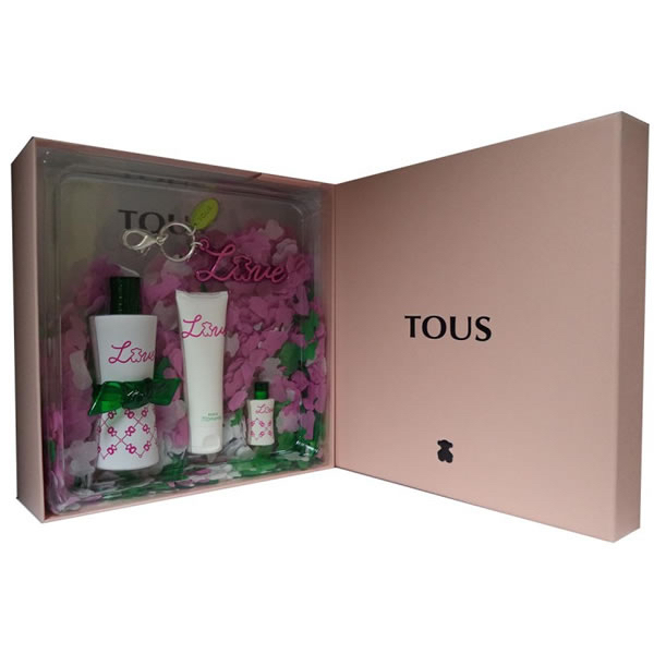 TOUS MOMENTS LOVE eau de toilette 50ml+ gel douche 50ml