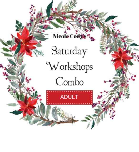Saturday Workshops Combo - Adult Ticket SATCOM2018