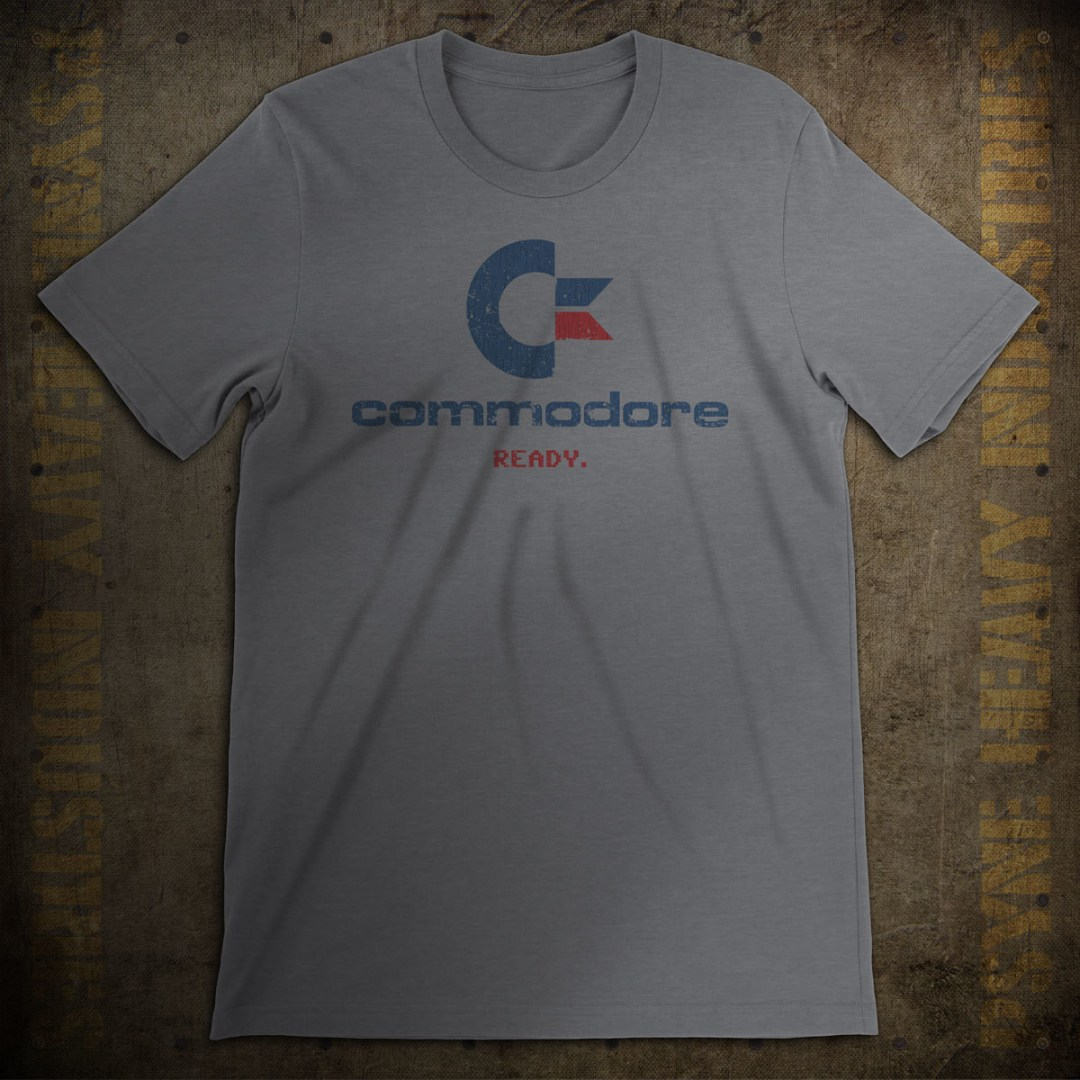 Commodore 64 Ready Vintage T-Shirt