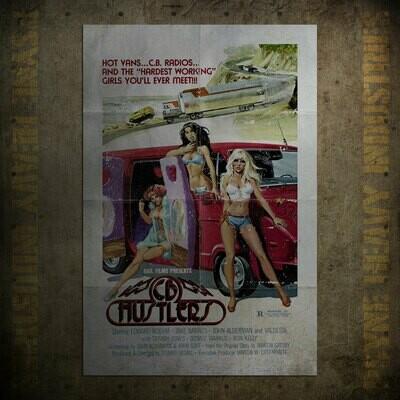 C.B. Hustlers Vintage Movie Poster