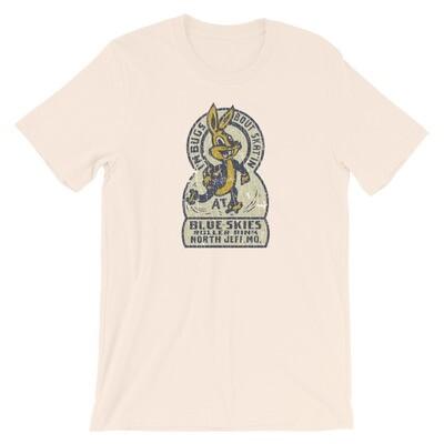 Blue Skies Roller Rink Vintage T-Shirt