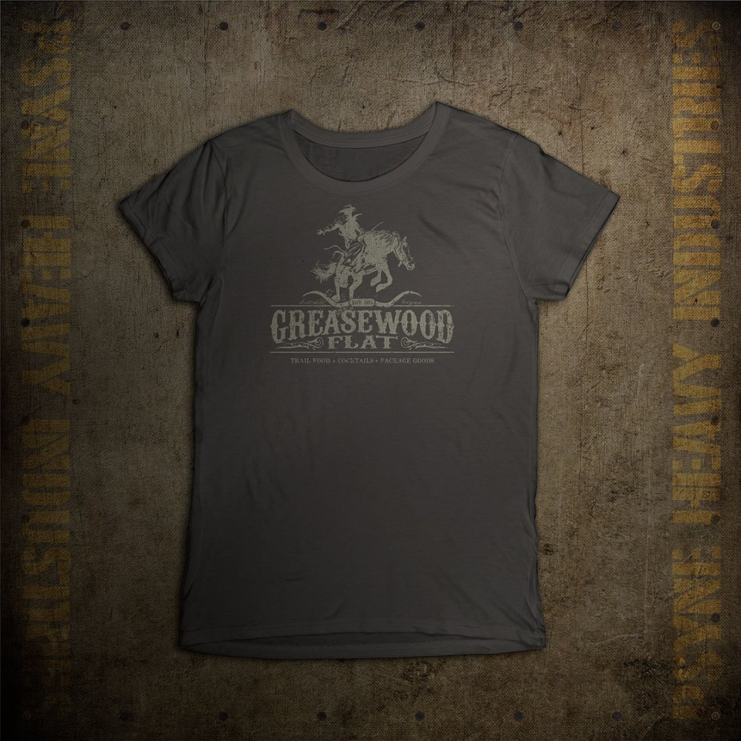 Greasewood Flat Vintage Arizona Cowboy T-shirt - Womens