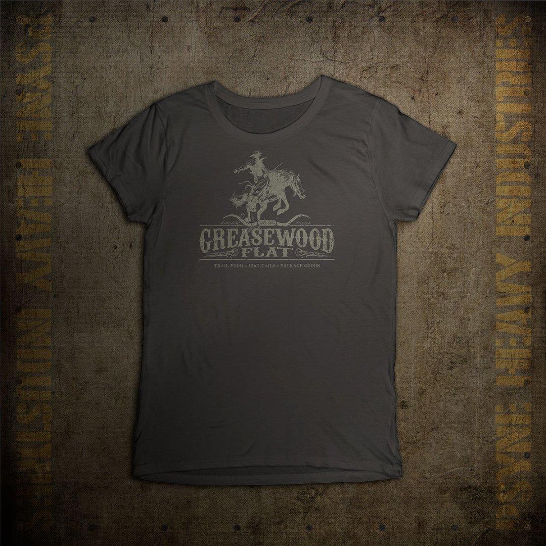 Greasewood Flat Vintage Arizona Cowboy T-shirt - Womens