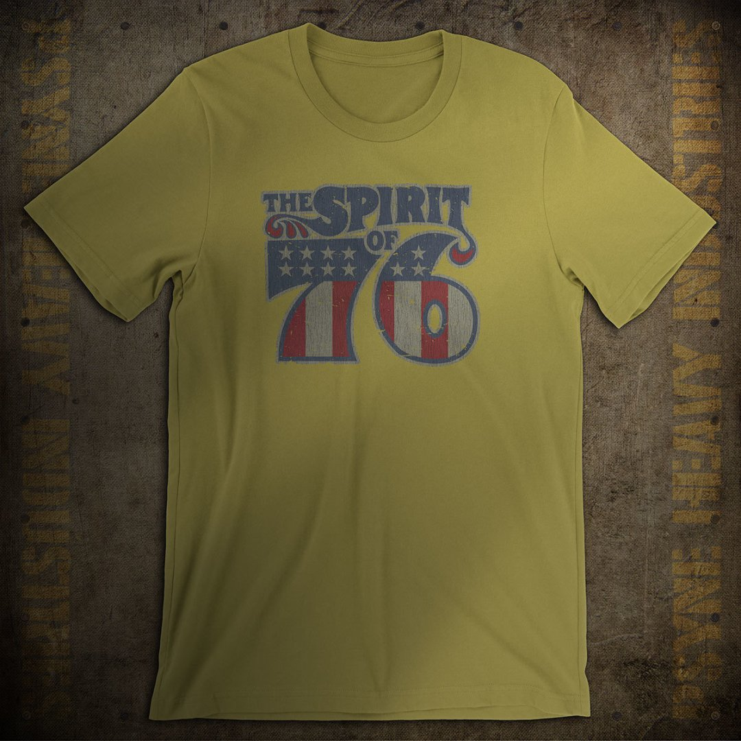 Spirit of 76 Vintage T-Shirt