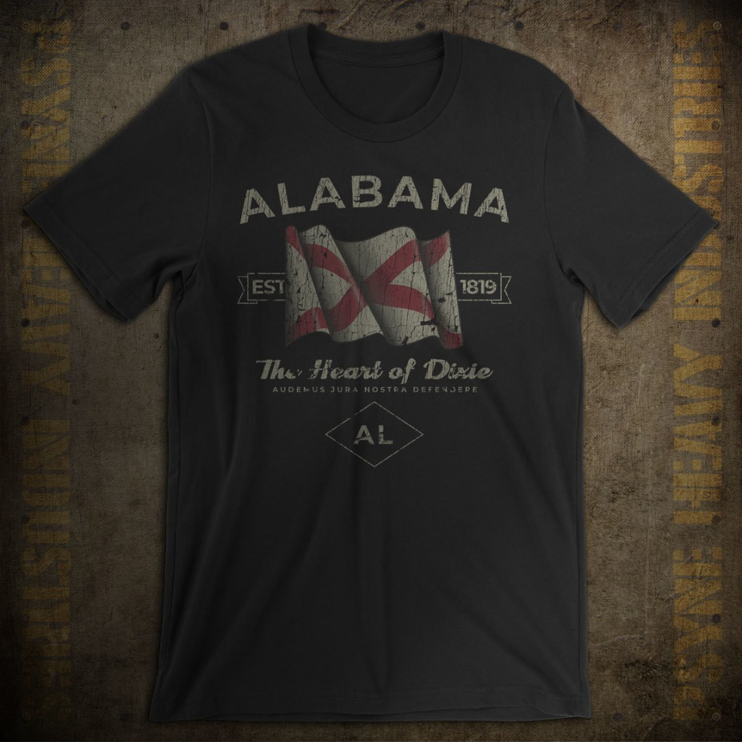 Alabama 1819 Vintage T-Shirt
