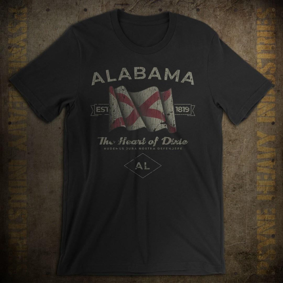 Alabama 1819 Vintage T-Shirt