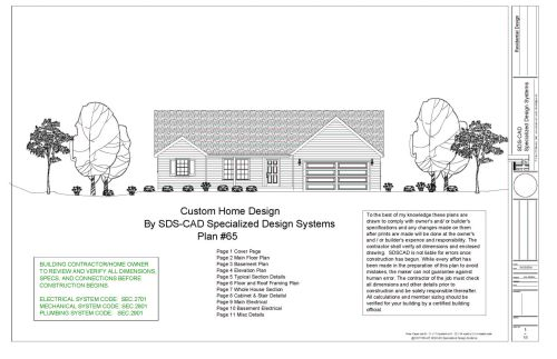 small resolution of 5 complete house plans construction blueprints autocad dwg and pdf