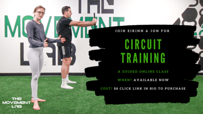 At Home Circuit Training [A Guided Online Workout]
