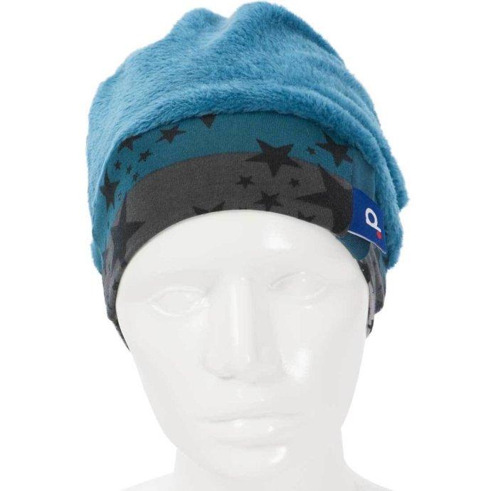 Bonnet enfant chaud en polaire 3-6 ans turquoise BO-18004-M