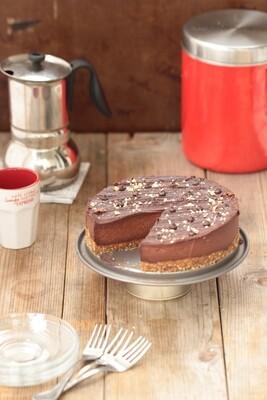18/01/2020 - Comment garder la ligne en adoptant une vie saine + préparation d'un cheesecake vegan au chocolat