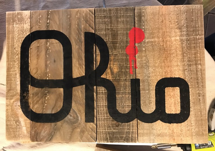 Pallet Sign - We will paint for you! PALLET1