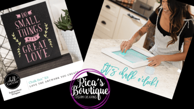 Chalkboard Workshop 7/29/19