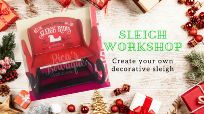 Sleigh Workshop - 12/8