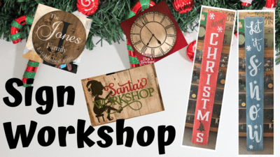 Sign Workshop - 12/1