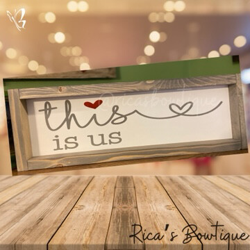Farmhouse Sign - This Is Us Sign