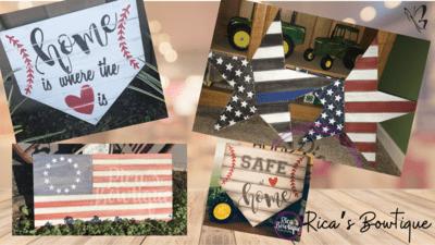 Stars, Stripes & Diamonds workshop - 5/2