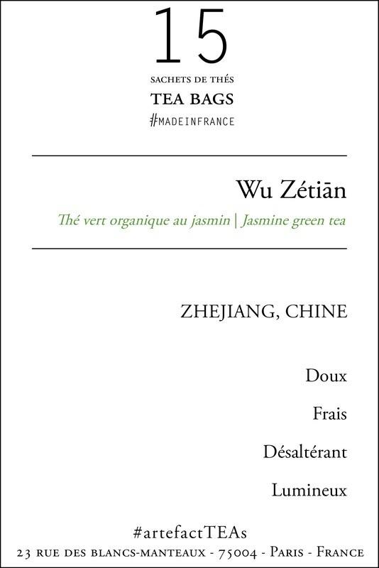 x15 Wu Zetiān Sachets de Thé   Tea Bags