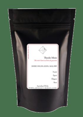 Thyolo Moto [Thé noir fumé du Malawi] : Paquet de 50g