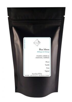 Blue Moon [Thé oolong] : Paquet de 100g