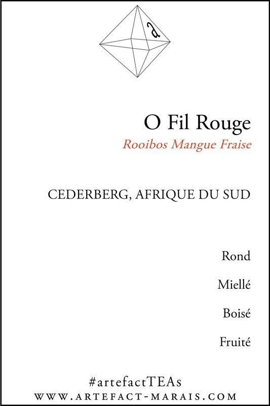 O Fil Rouge : Rooibos Mangue Fraise