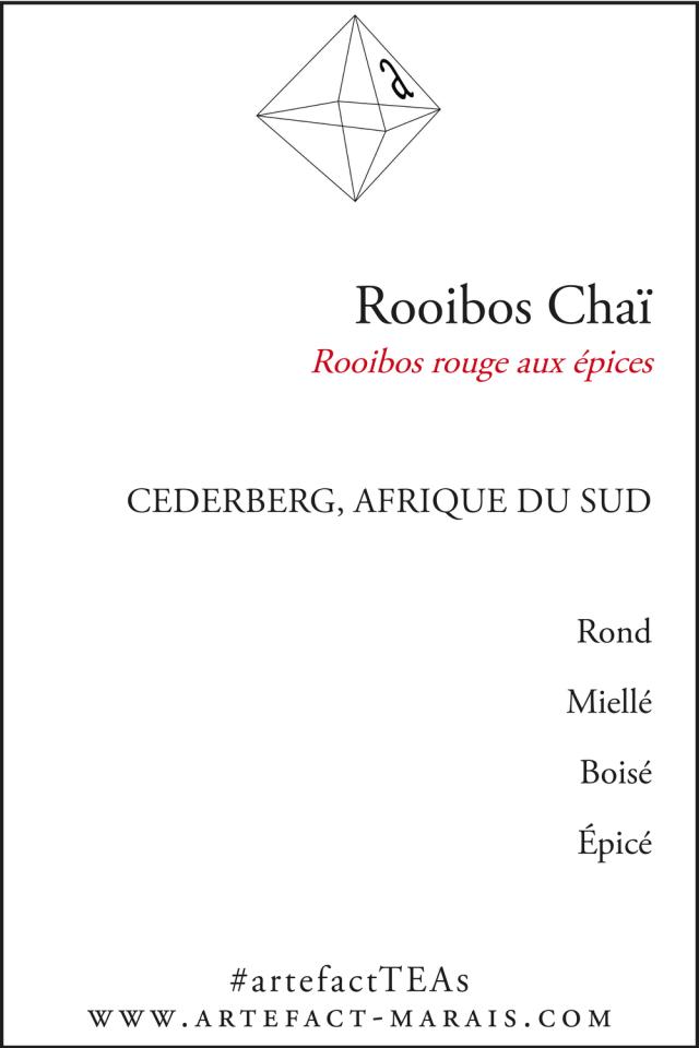 Rooibos Chaï : Rooibos aux épices