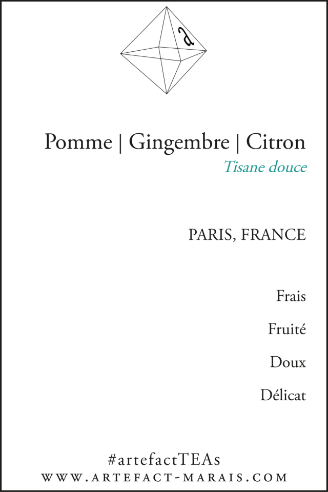 Tisane Pomme | Gingembre | Citron | Rose: Tisane douce