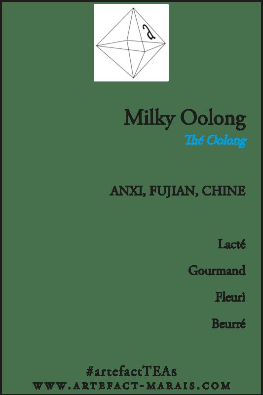 Milky Oolong: Paquet de 100g
