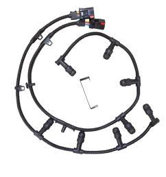 glow plug 6 0 wire harnes system [ 1500 x 1384 Pixel ]