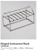 HYDRIM Hinged Instrument Rack 01-110409S