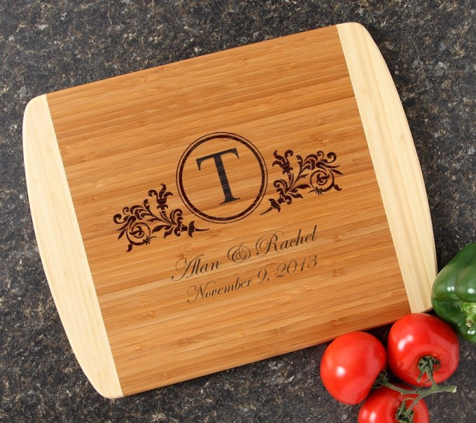 Personalized Cutting Board Custom Engraved 14x11 DESIGN 15 CBC-015
