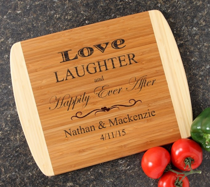 Personalized Cutting Board Custom Engraved 14x11 DESIGN 26 CBC-026