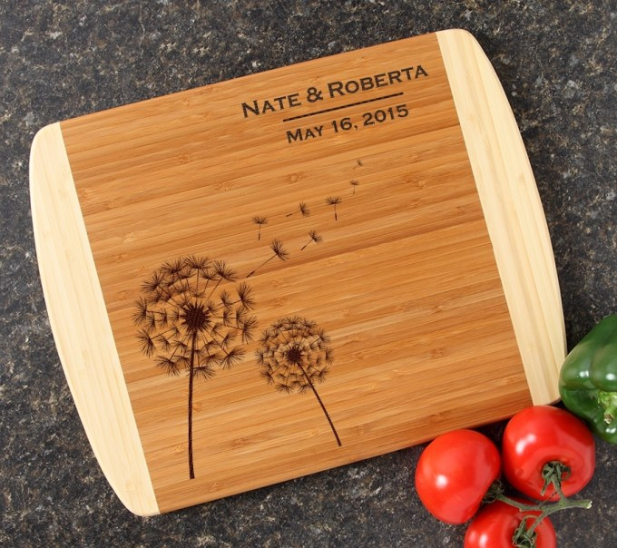 Personalized Cutting Board Custom Engraved 14x11 DESIGN 28 CBC-028