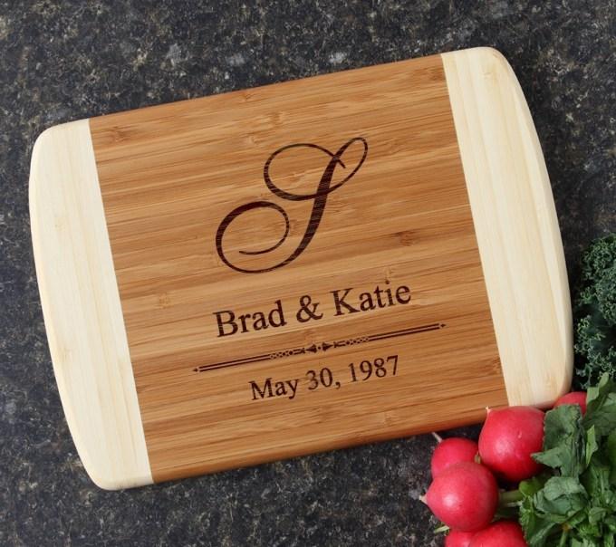 Personalized Cutting Board Custom Engraved 10 x 7 DESIGN 11 CBG-011