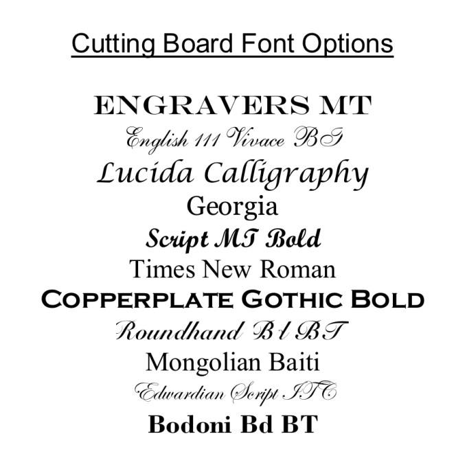 Personalized Slate Cheese Board Custom Engraved Slate Cheese Board 15 x 7 Font Options