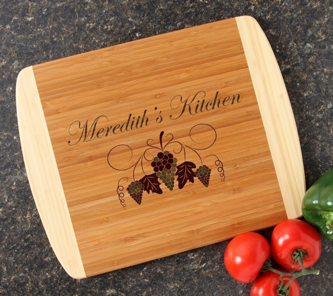Personalized Cutting Board Custom Engraved 14x11 DESIGN 40 CBC-040