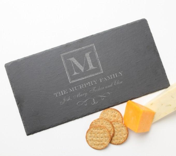 Personalized Slate Cheese Board 15 x 7 DESIGN 41 SCB-041