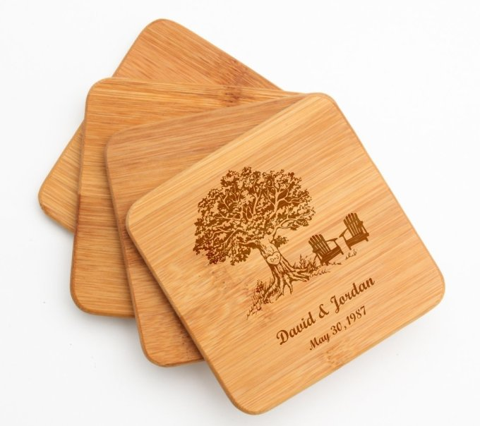 Personalized Cutting Board Custom Engraved 10 x 7 DESIGN 31