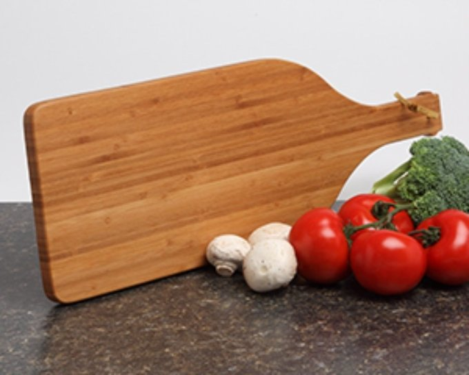 Personalized Cutting Board Custom Engraved Bamboo Cutting Board-16 x 5