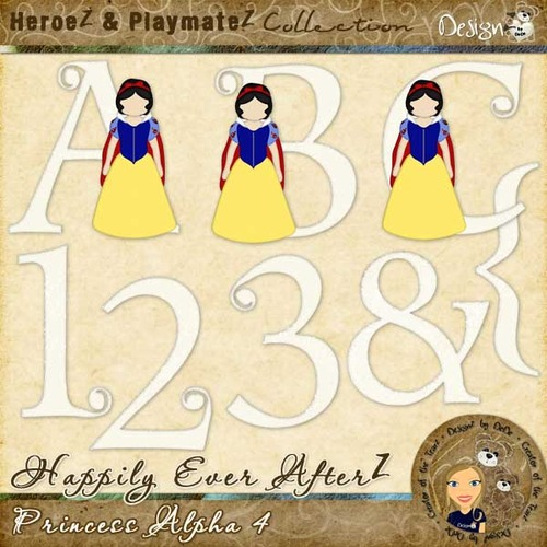 Happily Ever AfterZ: Princess Alpha 4