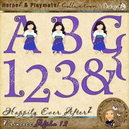Happily Ever AfterZ: Princess Alpha 12