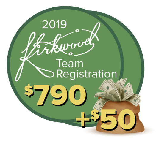 2019 Kirkwood Team Registration