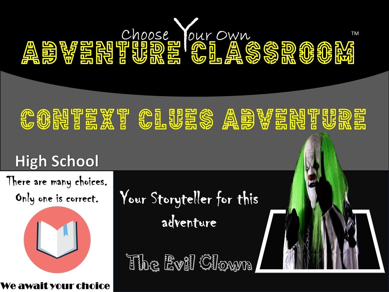 Context Clues High School Adventure 1 Teacher License