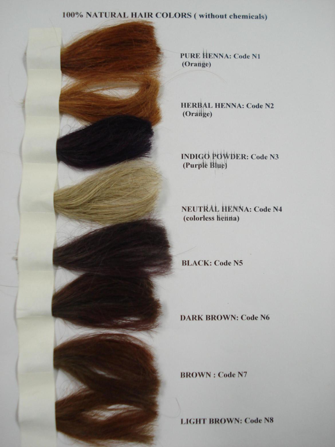 Herbal Henna w/ Amla, Neem, Shikakai and Bhringraj 4 oz + Cassia 4 oz (Strawberry Blonde)