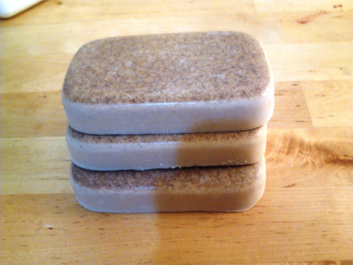 Low Lather Rhassoul Clay Burdock Root Shampoo and Conditioner Bar