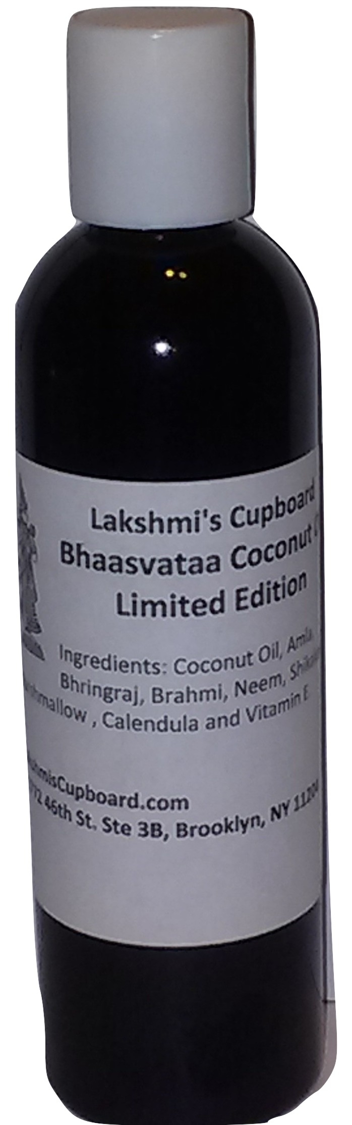 Bhaasvataa Coconut Oil w/ Amla, Shikakai, Neem Bhringraj, Calendula, Marshmallow and Brahmi (Limited Edition) 4 oz 000